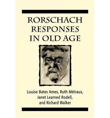 Rorschach Responses in Old Age (The Master Work Series) (Master Work) (Paperback) - Common