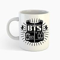 BTS logo printed on mug