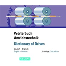 Wörterbuch Antriebstechnik / Dictionary of Drives. CD-ROM für Windows ab 95, NT/2000. Deutsch-Englisch / Englisch-Deutsch.