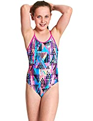 Zoggs Girls' Sprintback One Piece Swimsuit