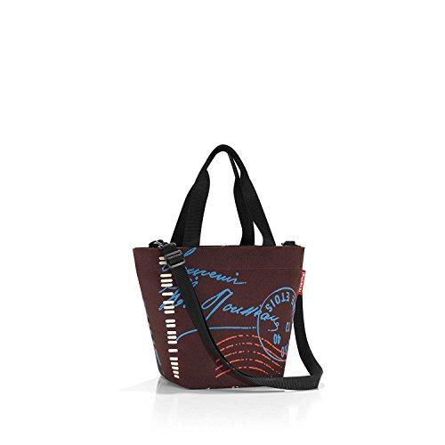 Reisenthel Shopper Xs Special Edition Sporttasche, 31 cm, Aquarius fifties black