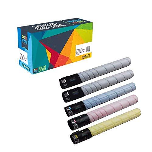 Do it Wiser ® 5 Kompatible Toner zu Konica Minolta Bizhub C220 C280 C360   TN-216K TN-216C TN-216M TN-216Y A11G151 A11G451 A11G351 A11G251