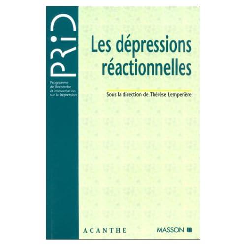 Les dépressions réactionnelles