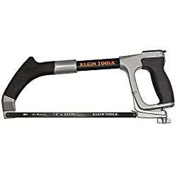 Klein Tools 702-12 Hacksaw With 12-inch Blade & 6-inch Reciprocating Blade
