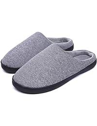 49de30321b0b BlueFlowers Pantoffeln Rutschfeste Herren   Damen, Unisex-Filzpantoffeln  Wärme, Hausschuhe Winter