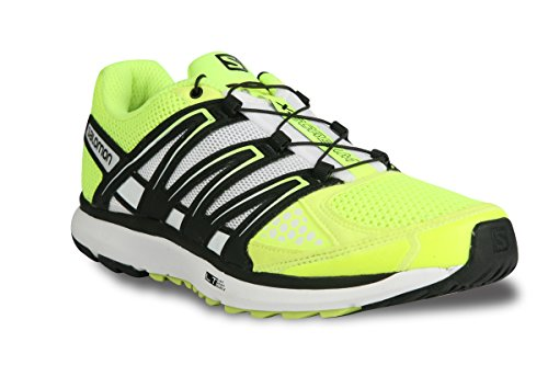 Salomon X-Scream Trail Running Shoes,  ( Fluo Yellow/Black/White)