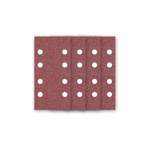 Preisvergleich Produktbild 50 MioTools Klett-Schleifbogen / Schleifpapier für Schwingschleifer - 180x93 mm - Korn 40 - 8-Loch