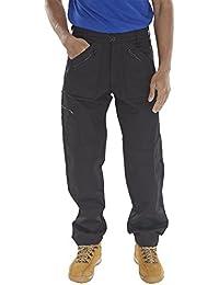 Click Workwear – Multi Bolsillo acción Estilo Pantalones ...