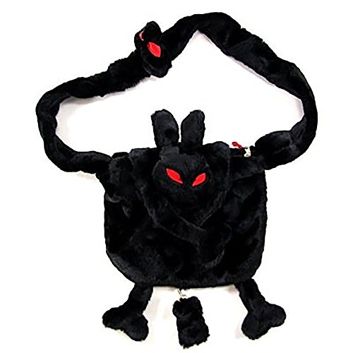 Price comparison product image Hell BUNNY black plush BUNNY BAG Shoulder BAG