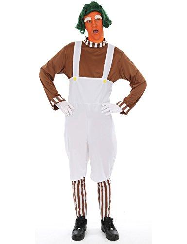 Schokoladenfabrikarbeiter über uns Fasching Karneval Kostüm Herren Standard