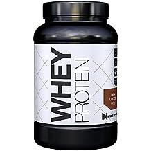 Premium Whey Protein für Muskelaufbau & Abnehmen in leckeren Geschmäckern   Low Carb Eiweiß-Shake, Eiweiß-Pulver mit Aminosäuren (BCAA)   1kg NeoSupps Protein Pulver – Schokolade / Schoko