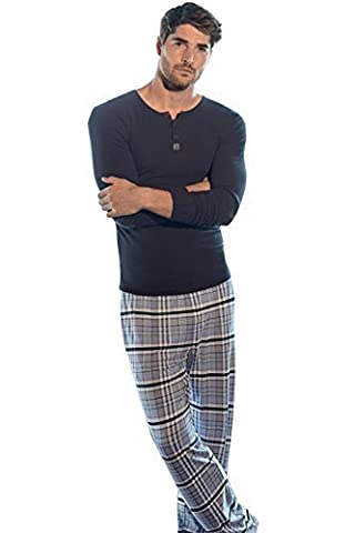 Jockey - Bas de pyjama - Homme - Gris - Medium