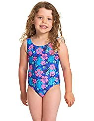 Zoggs Girls' Kona Scoopback One Piece Swimsuit