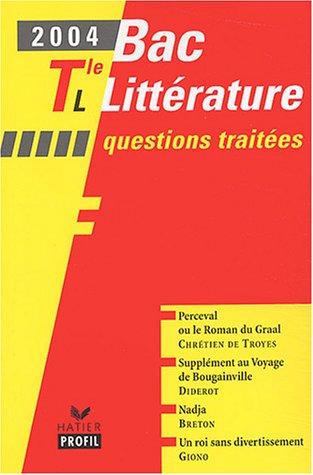 Profic Bac : Littérature, terminale L par Etienne Gomez, Vincent Debaene, Bertrand Darbeau, Brigitte Wagneur
