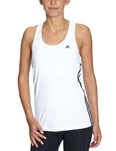 adidas X20086 Débardeur pour femme Multifunctional Essentials 3S Blanc/Noir - 46 FR
