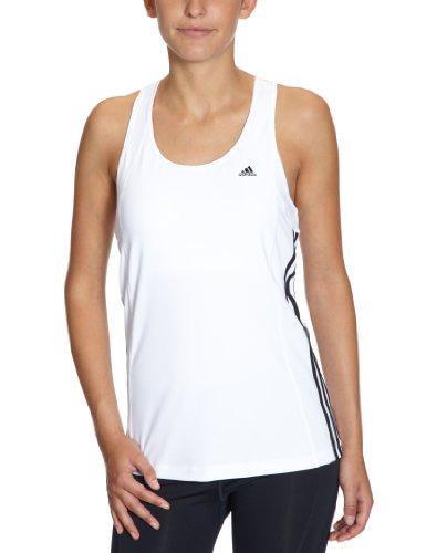 adidas X20086 Débardeur pour femme Multifunctional Essentials 3S Blanc/Noir