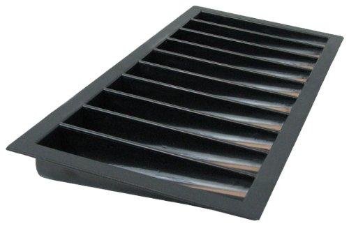 Markenzeichen Kunststoff Tablett für 10–21Fold Blackjack-Tisch (schwarz)