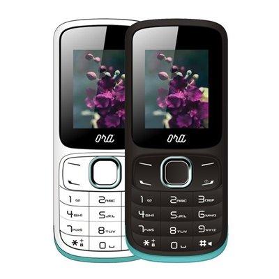 Ora Wearable Tech AIRA E1701 - Teléfono para Personas Mayores (1,77', Dual sim, RadioFM) Color Blanco