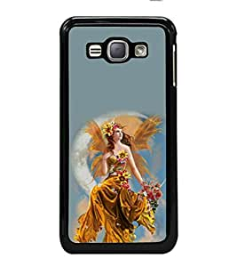 printtech Beautiful Fantasy Girl Back Case Cover for Samsung Galaxy J1 (2016) :: Samsung Galaxy J1 (2016) Duos with dual-SIM card slots :: Galaxy Express 3 J120A (AT&T); J120H, J120M, J120M, J120T