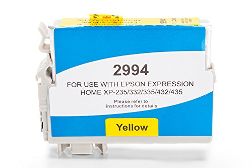 printyo® Cartucho d tinta C13T29944010 amarillo 9,6 ml compatible para Epson Expression Home XP-235/Expression Home xp-240 Series/Expression Home xp-245/Expression Home xp-247/Expression Home XP-330 Series/Expression Home XP-332/Expression Home XP-335/Expression Home xp-340 Series/Expression Home xp-342/Expression Home xp-345/Expression Home XP-430 Series/Expression Home XP-432/Expression Home XP-435/Expression Home xp-440 Series/Expression Home xp-442
