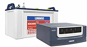 Luminous Ecovolt 700 Inverter with Red Charge 15000 Battery