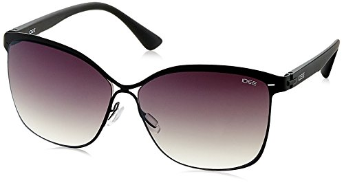 IDEE Gradient Square Women's Sunglasses - (IDS2092C1SG|59|Green Gradient lens) image