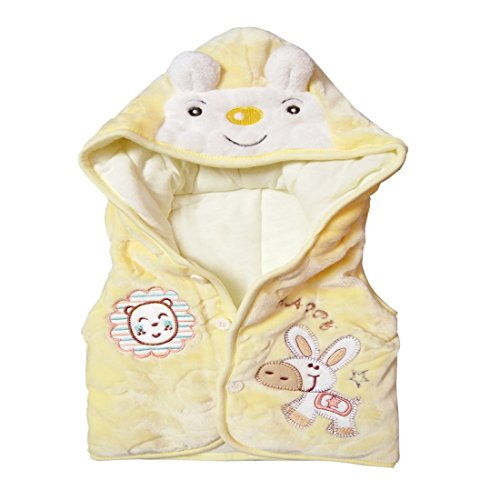 Acme Collections Animal Hooded Waistcoat/Jacket for Autumn, Winter Season for a cute little baby 6-12 Months (Unisex)