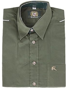 Orbis Herrenhemd 120000 0745/57 dunkelgrün