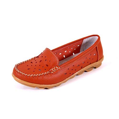 Borracha Laranja Pé Em De Oco Anti deslizante Dedos Deslizamento Respirável Lady Alguns Útil Slipper Casuais Sewed Única Confortável Do Sapatos Tq71w1