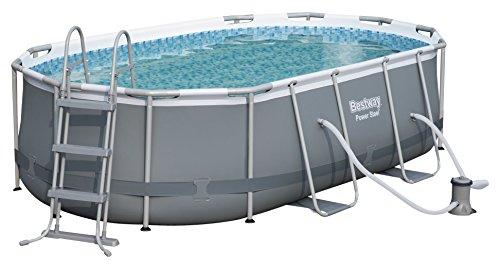Bestway d'alimentation en acier 56620hors sol piscine