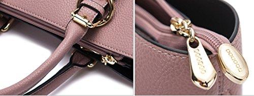 Keshi Pu Niedlich Damen Handtaschen, Hobo-Bags, Schultertaschen, Beutel, Beuteltaschen, Trend-Bags, Velours, Veloursleder, Wildleder, Tasche Blue Grau