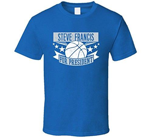 Steve Francis For President Orlando Basketball Player Sports T Shirt XXXX-L