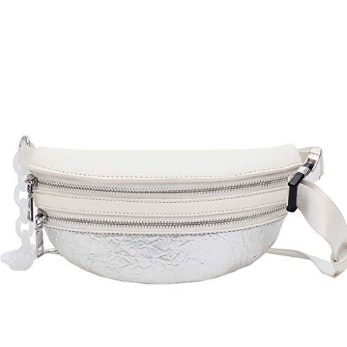 Mitlfuny handbemalte Ledertasche, Schultertasche, Geschenk, Handgefertigte Tasche,Mischfarben-Art- und Weisefrauen-lederne Beutel-Kettenkurier-Crossbody Beutel-Kasten-Beutel