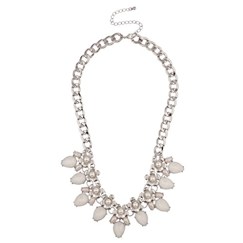 lux-accessories-floral-white-faux-pearl-flower-chain-link-statement-necklace