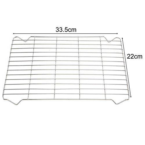 spares2go Kleine Grillpfanne Rack Einsatz Tablett für LG Ofen Kochfeld (Ofen-rack Lg Für)