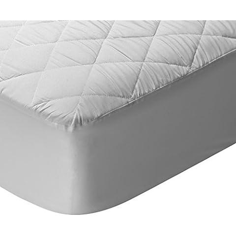 Pikolin Home Essential - Protector de colchón acolchado, transpirable, 160 x 190/200 cm, cama 160