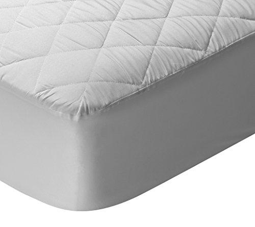 Pikolin Home - Protector de colchón/Cubre colchón acolchado, transpirable, 90x190/200cm-Cama 90 (Todas las medidas)