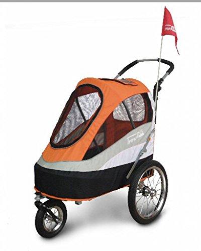 Fahrradanhänger Hundebuggy InnoPet Modell Sporty Trailer bis 30kg - 4
