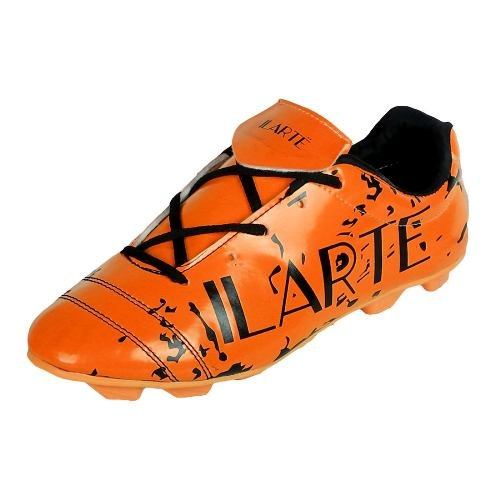 Ilarte C Cave Men's 001 Football Shoes/ Stud (Black/Orange 1) 2017's New...