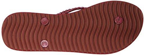 flip*flop slim kilim, Infradito donna Rosso (Rot (611 carpet))