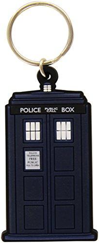 Doctor Who Tardis en caoutchouc Porte-clés