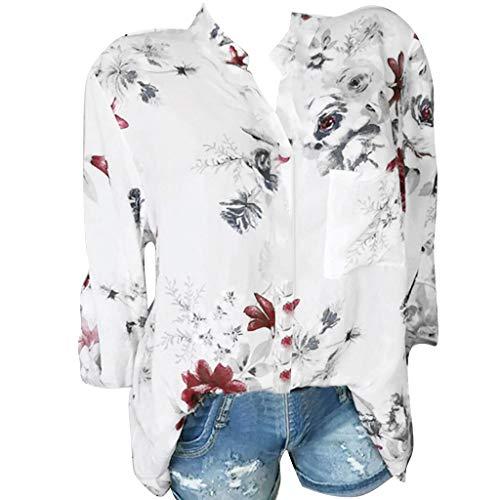 Feytuo T-Shirt Lässig Kurzarm Ausschnitt Einfarbig Kurzarm Damen Top Damen Sexy Chic Ärmelloses Tank Top Damen Big Size Sexy Shirt Damen Chic Sommer T-Shirt Damen Weiß -