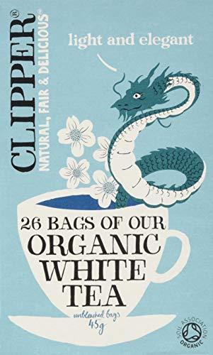 A photograph of Clipper organic white