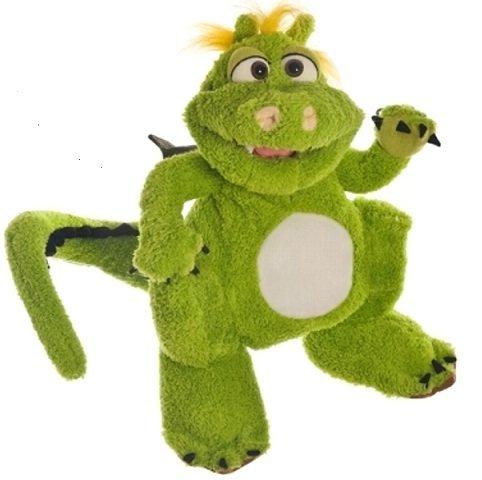 Living Puppets Handpuppe Filippo der Drache 35 cm