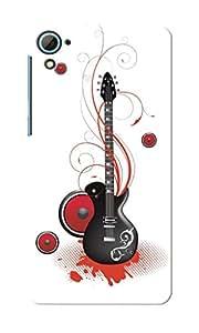 KnapCase Guitar Designer 3D Printed Case Cover For HTC Desire 826
