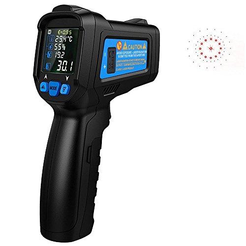 Preisvergleich Produktbild CestMall Infrarot-IR-Thermometer Berührungslose Digital-Laser-Infrarot-Thermometer-Temperatur-Pistole -58  ~ 1022  Mit Vollbild-Farb-LCD-Display mit Hintergrundbeleuchtung