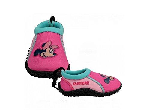 Kinder Tauch Schwimm Schuhe Aquaschuhe rutschfeste Badeschuhe Minnie Maus