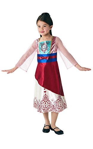 Rubie 's 640728M Disney Princess Mulan Gem Kostüm, Mädchen, mittel