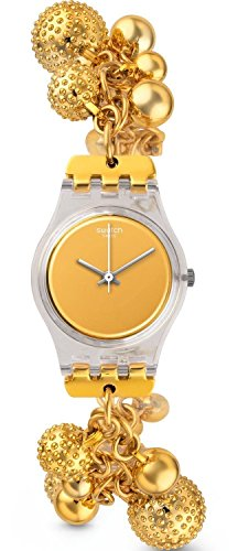 Swatch Reloj de cuarzo Woman Boule D'Or 25 mm