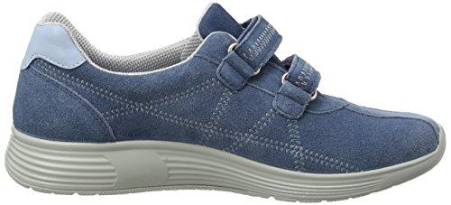 Hotter Astrid, Sneakers Hautes femme Blue (Blue River)